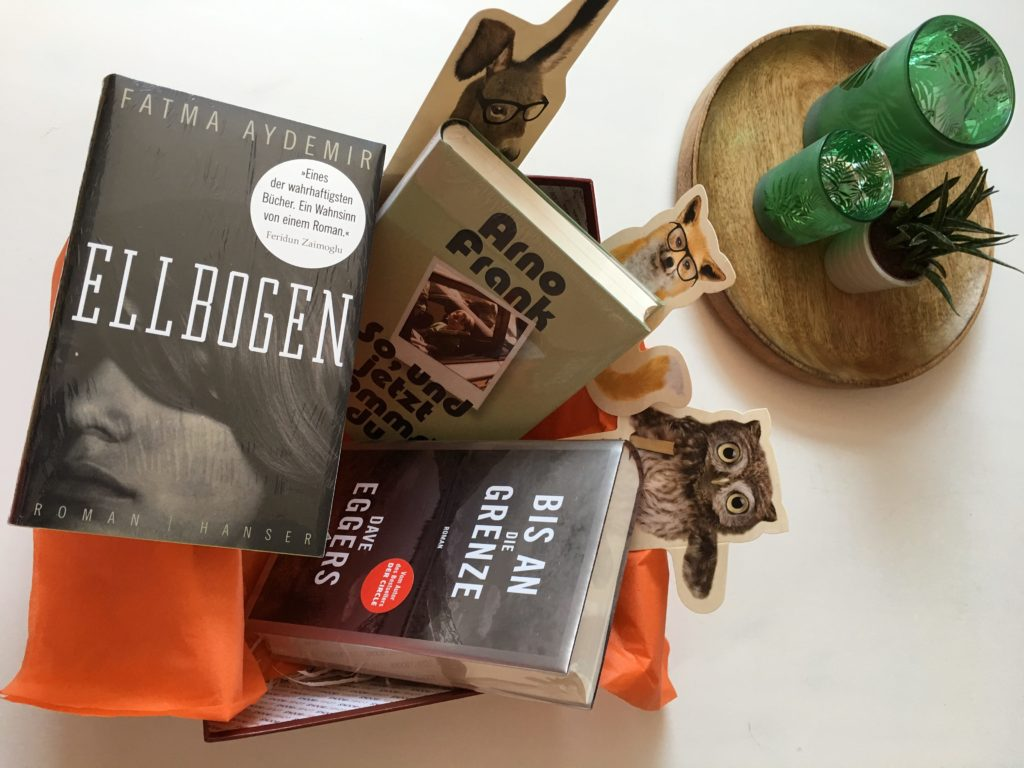 LovelyBooks #lovelybox Frühjahr 2017